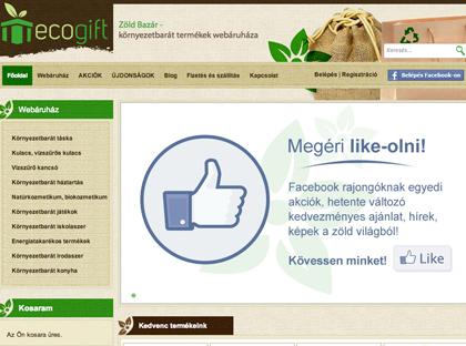 Eco Gift – Zöld Bazár