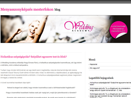 wedding academy
