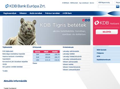 KDB Bank Európa