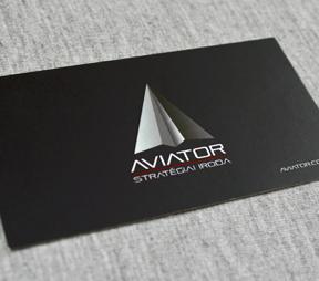 AVIATOR névjegykártya