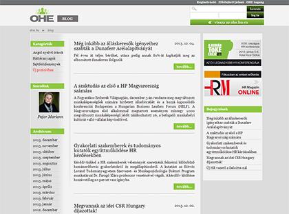 OHE Blog