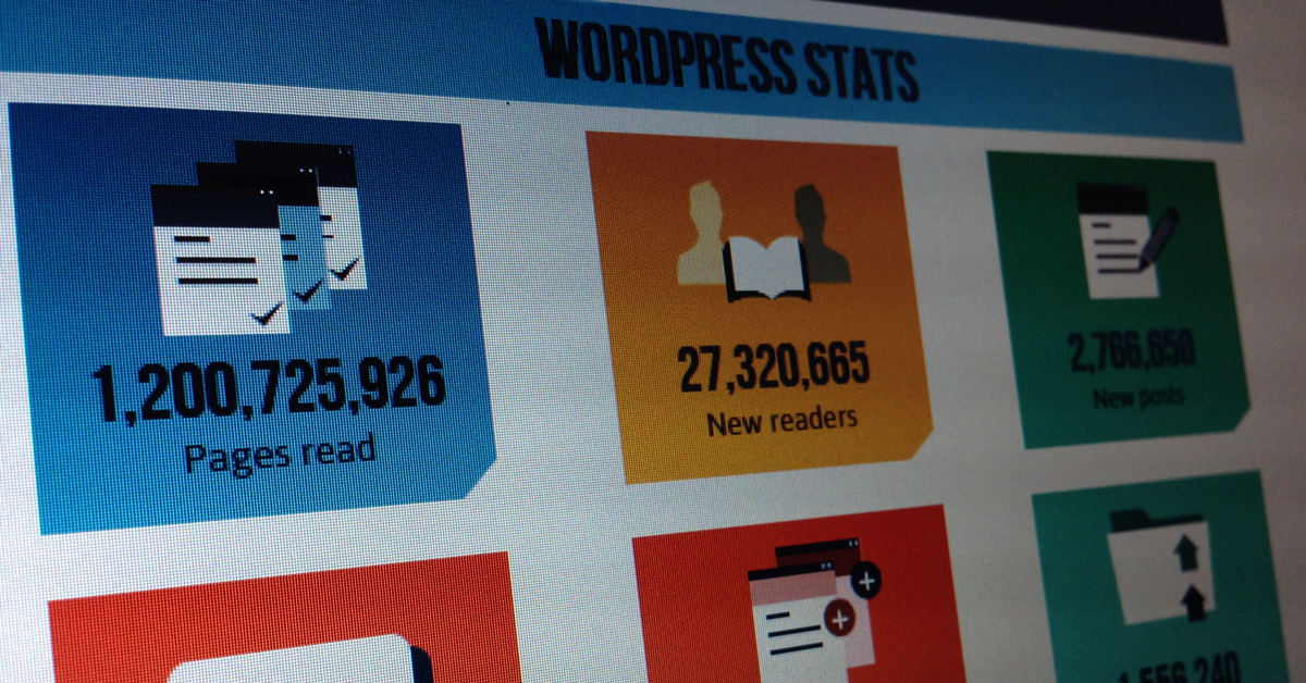 WordPress Statisztika