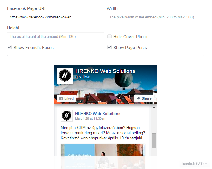 Facebook új Page, vagyis lájkgyűjtő plugin