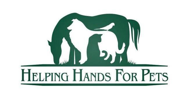 Helping Hands For Pets logó - Negatív tér kihasználása
