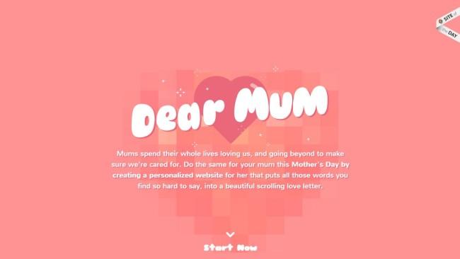 Pasztell színek - Dear mum
