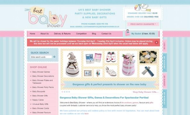 Pasztell színek - best baby shower