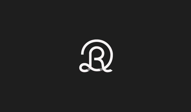 Rétegezett R logó