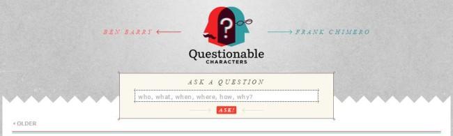 Tökéletes Webdesign - Quastionable Characters