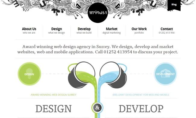Tökéletes webdesign - 1minus1