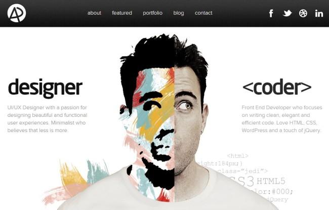 Tökéletes webdesign - Adham Dannaway