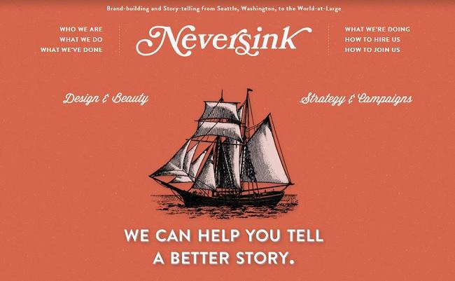 Tökéletes webdesign - Neversink