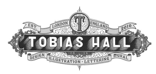 Tobias Hall vintage logó