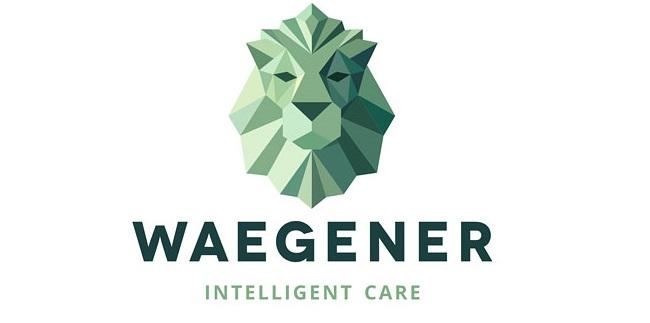Waegener sokszög logó design