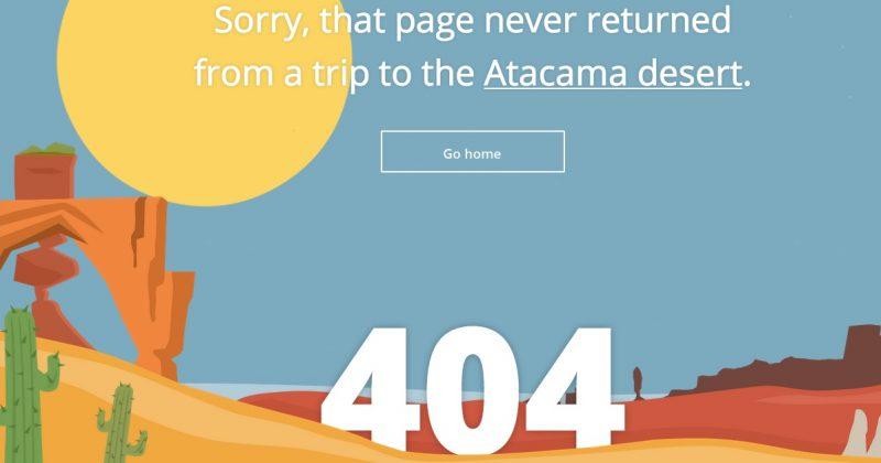 Tripomatic 404 oldal