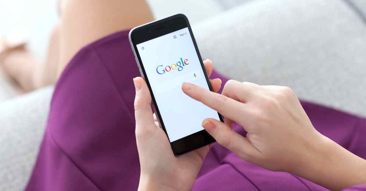 Google mobilos algoritmus