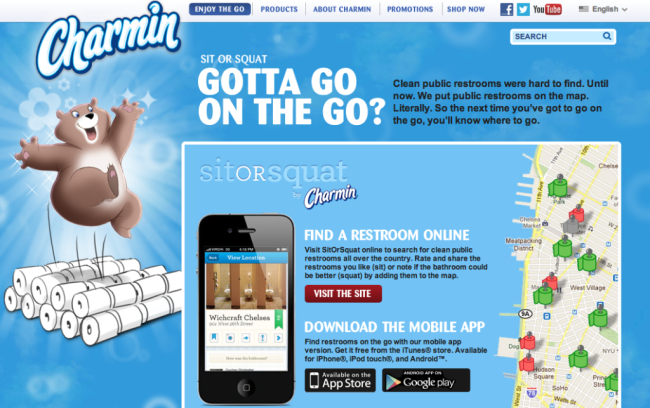 Content marketing tippek - Charmin