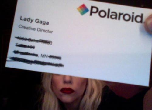 Hírességek névjegyei - Lady Gaga