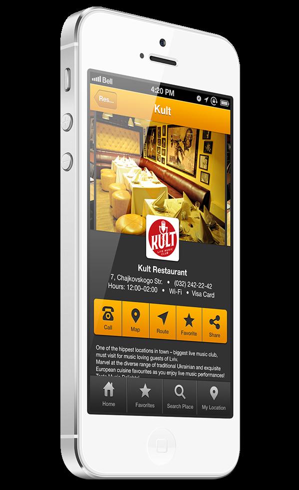 Minimál mobil felhasználói felület design - Guide 3