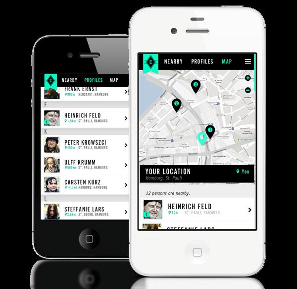 Minimál mobil felhasználói felület design - Help Make It 2