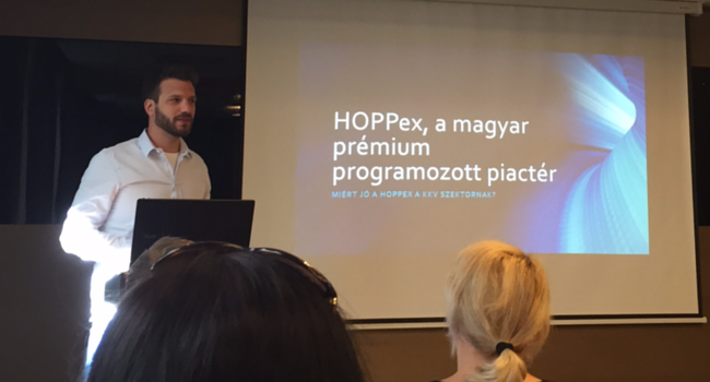 Vándor Attila - HOPPex KKV reklám