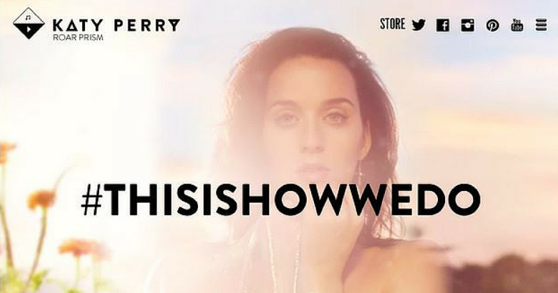 WordPress Katy Perry