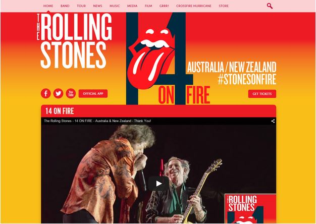 WordPress Rolling Stones