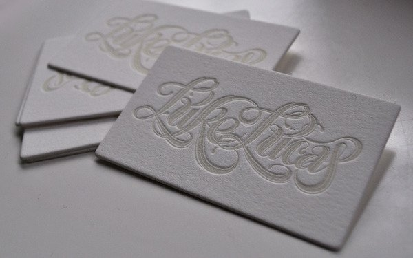 Letterpress -Glow-in-the-Dark