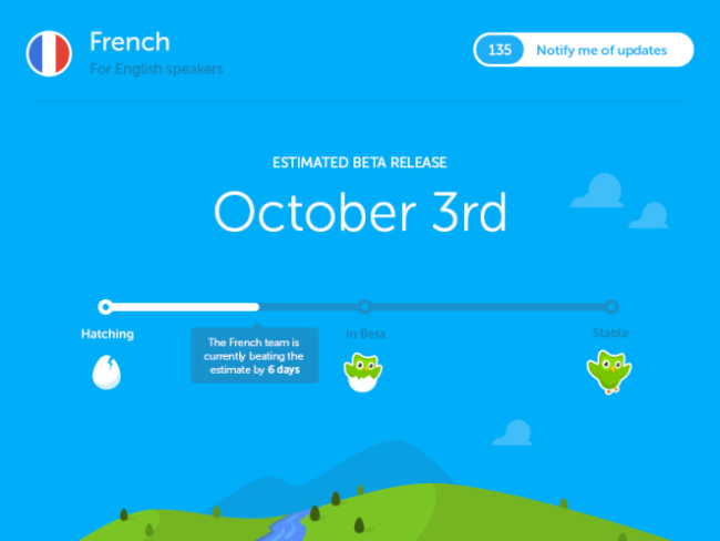 duolingo coming soon