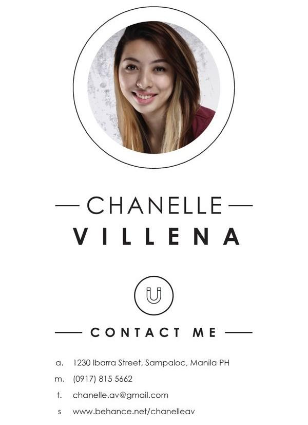 e-mail aláírás Chanelle Villena