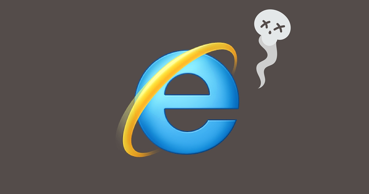 megszűnik az internet explorer támogatása