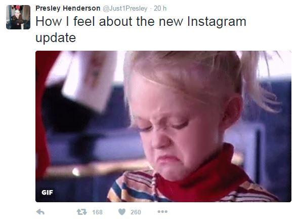 új instagram algoritmus