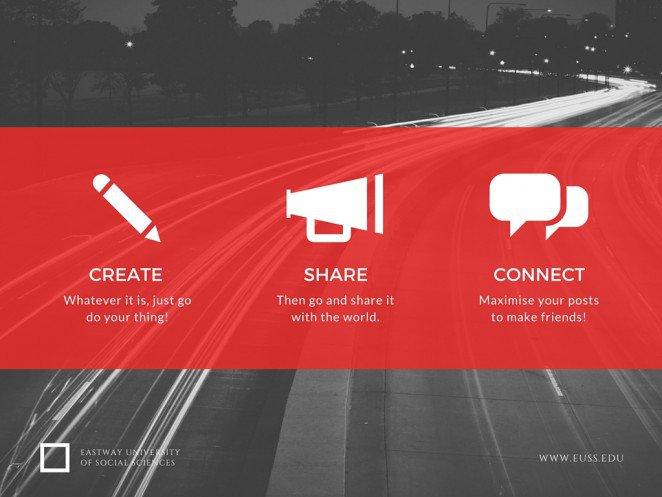 grafikai elemek a közösségi médiában
