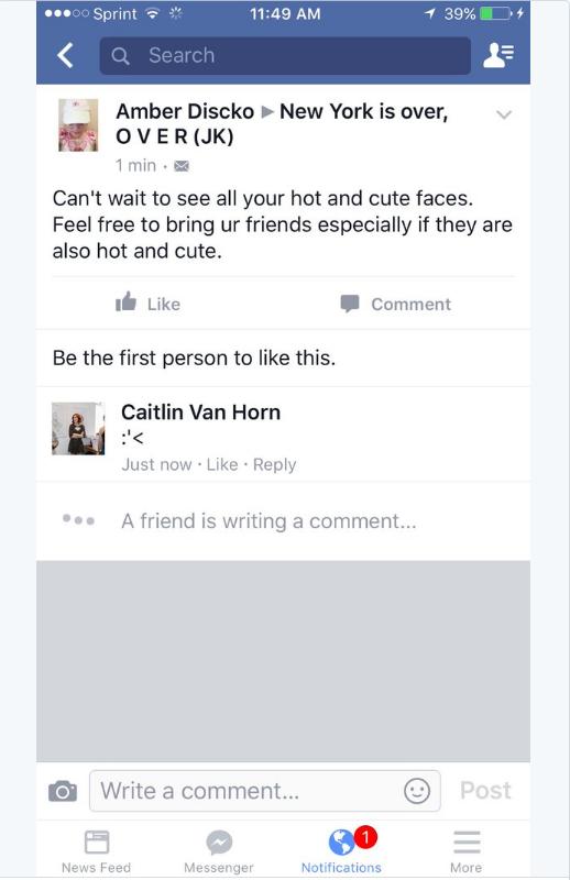 Facebook komment