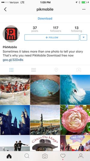 instagram változtatások