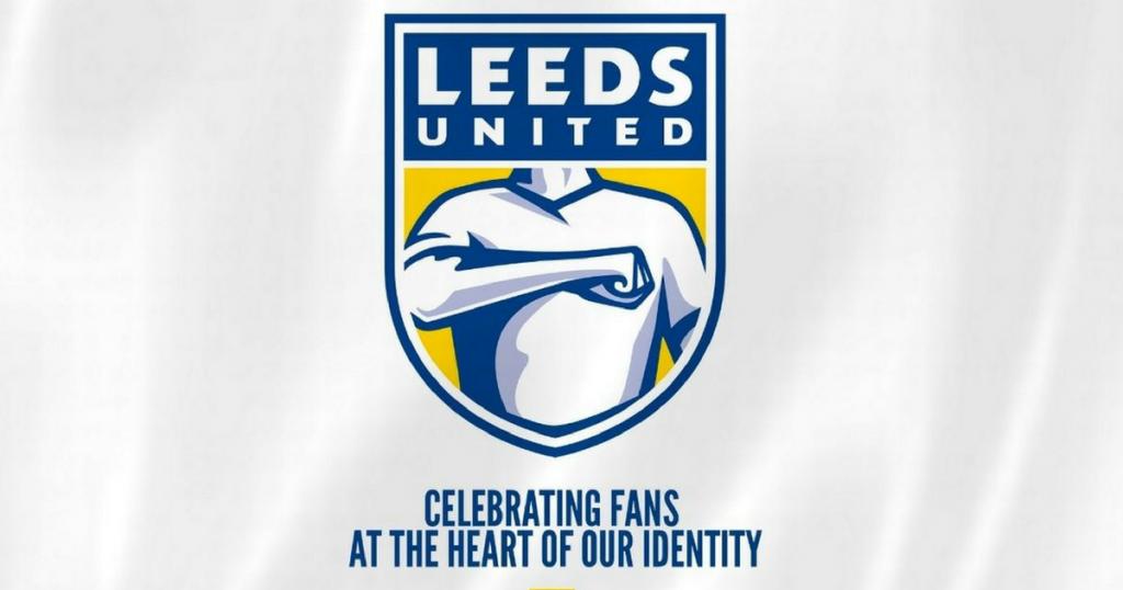 A Leeds új címerének elvetett változata.