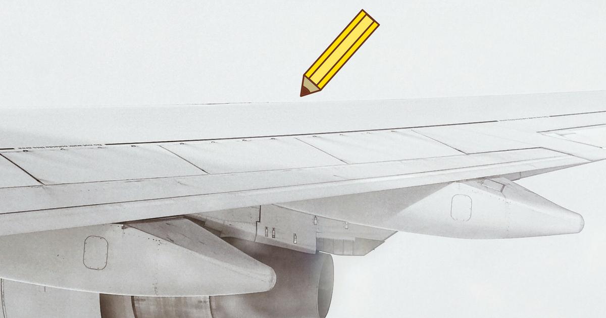 Repülőgép design illusztráció.
