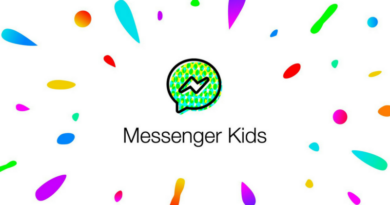A Messenger Kids logója.