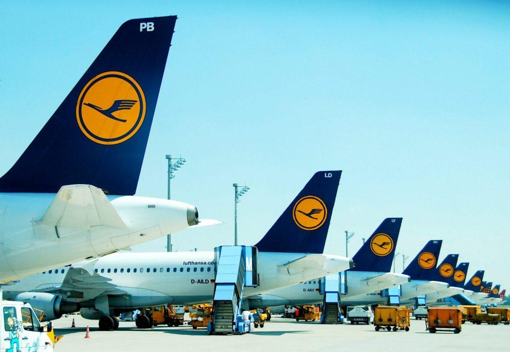 Régi Lufthansa logo.