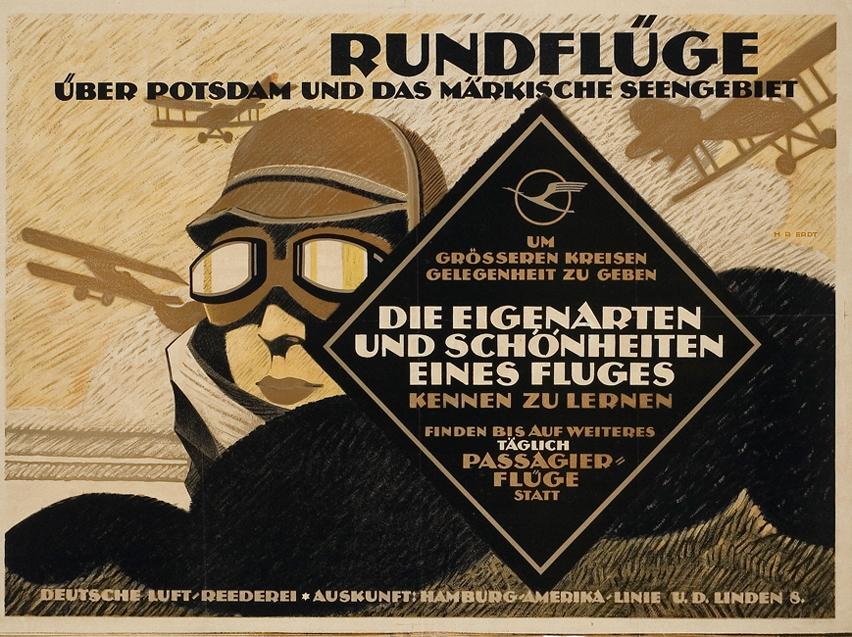 A Rundflüge plakátja.