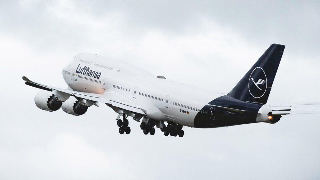Az új Lufthansa logo.