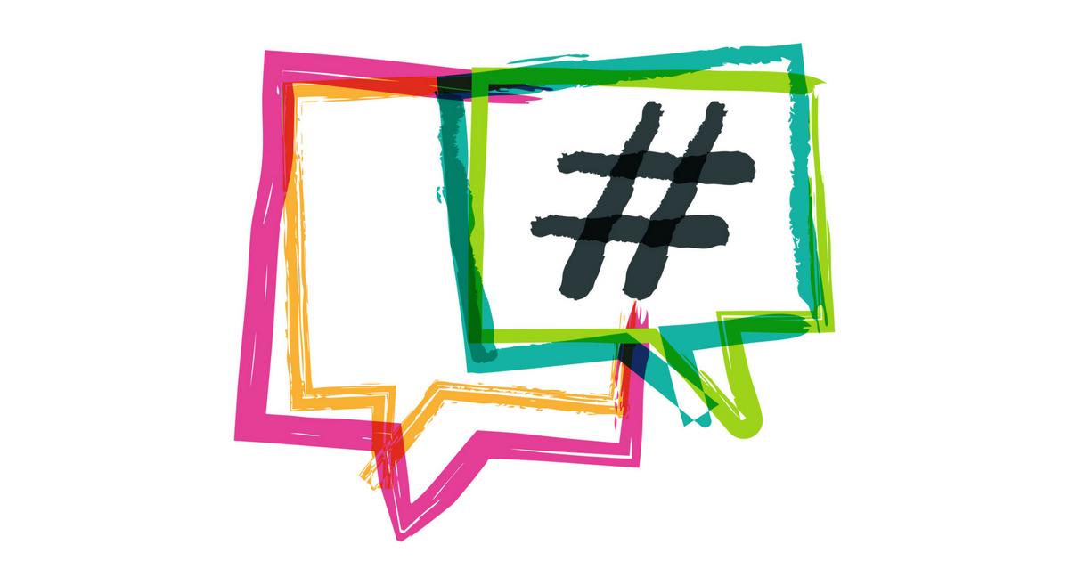 Hashtag - illusztráció.