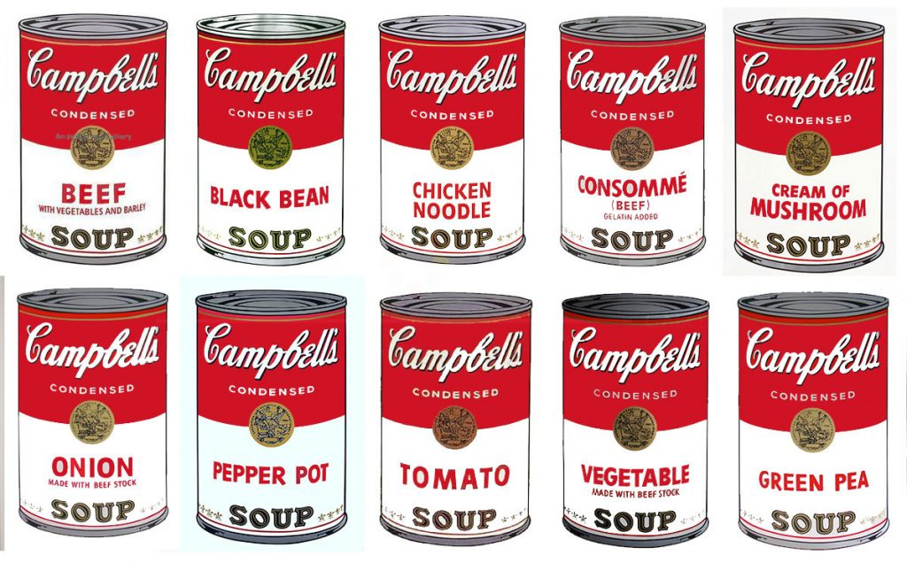 Andy Warhol's Campbell's Tomatoe Soup