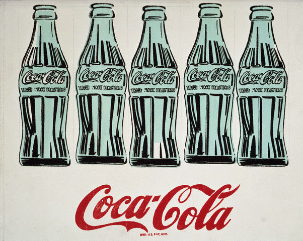 Andy Warhol's Five Bottles
